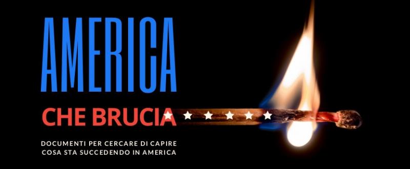 America che brucia