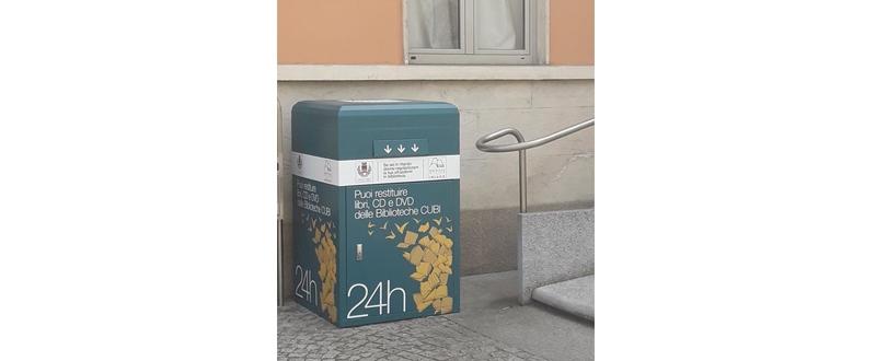 Box restituzione Biblioteca Inzago
